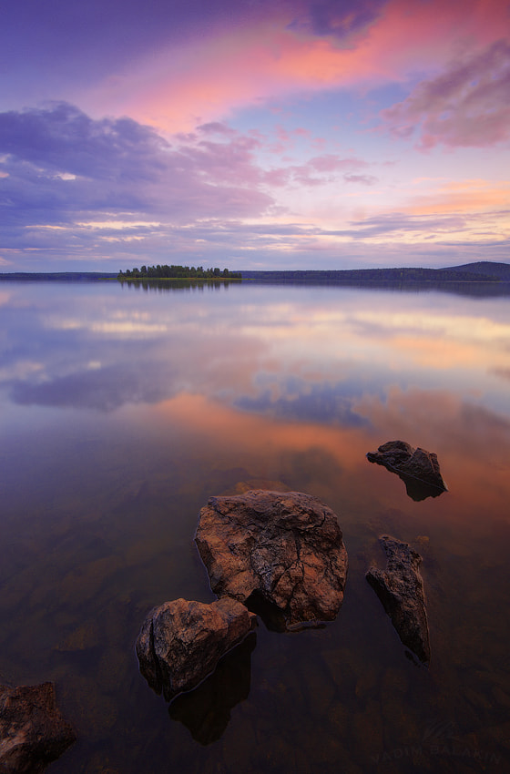 Photograph Sunset at Volchihinsk Lake (III) by Vadim Balakin on 500px