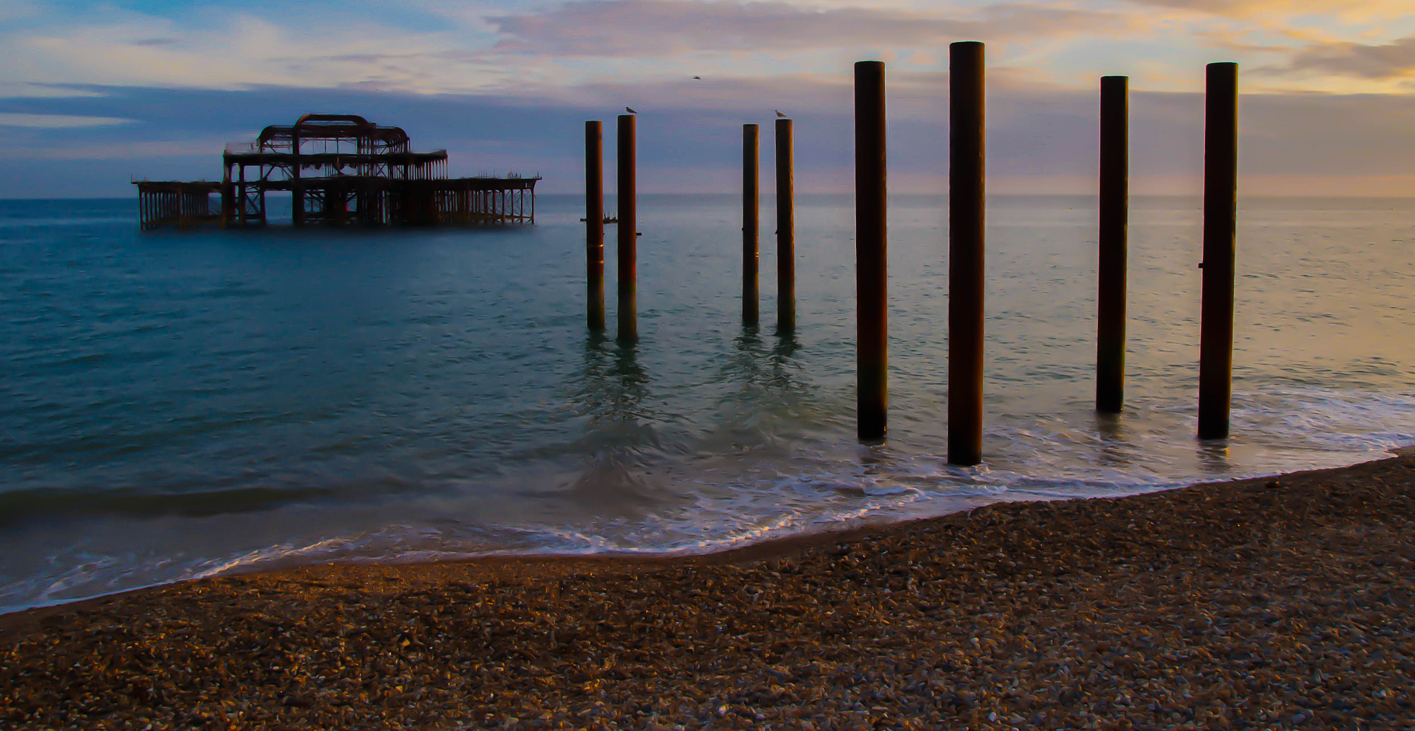 Photograph West Pier, brighton by julian john on 500px