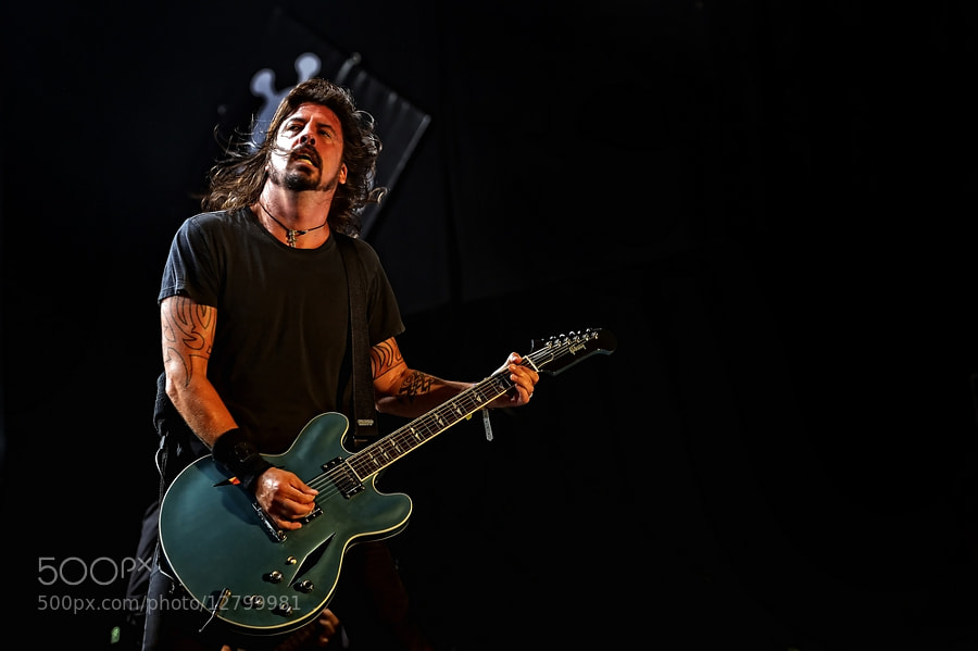 Photograph Foo Fighters,Dave Grohl by Luuk Denekamp on 500px