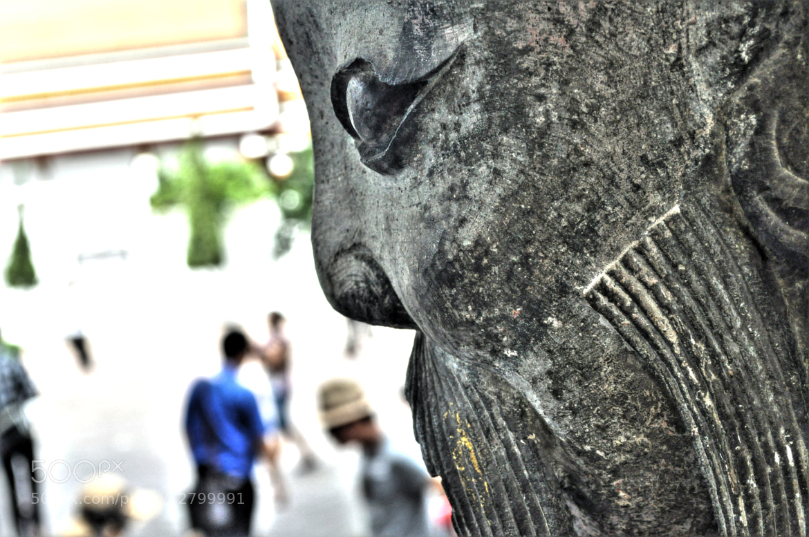 Photograph During a war, Japanese moved some of their unique Sculpture to Thailand...  by Nikhil Dev  Pawar on 500px