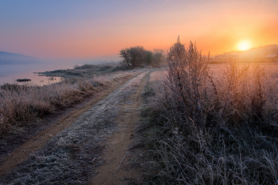 Sunrise in Zapyškis by Robertas Rimenas on 500px.com