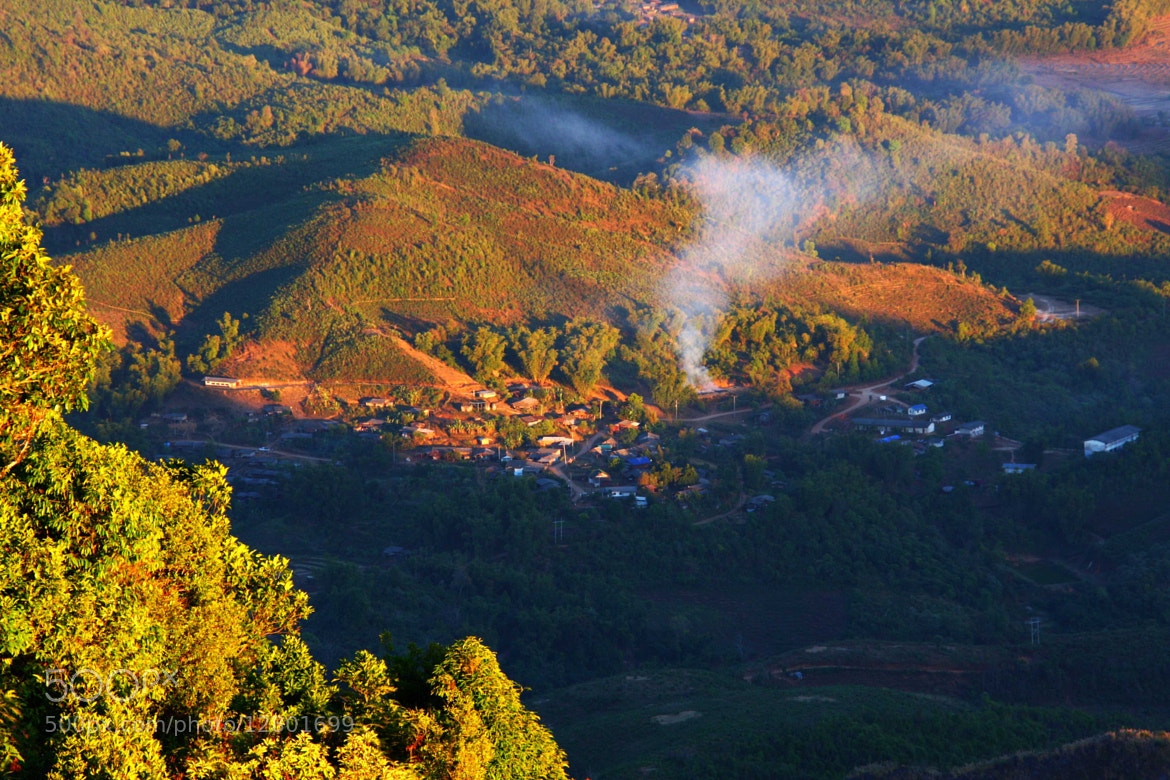Photograph Village on the Hill by Monticha Sangkananong on 500px