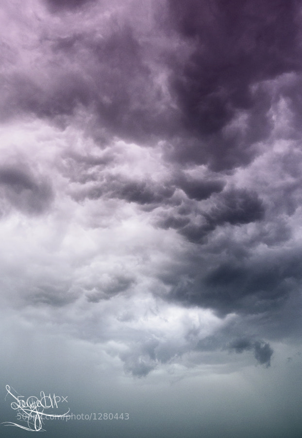 Photograph sky before the rain by Sergey Tikhomirov on 500px