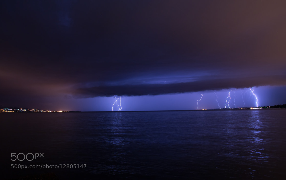 Photograph Storm Enlightened by Charles DELEPINE on 500px