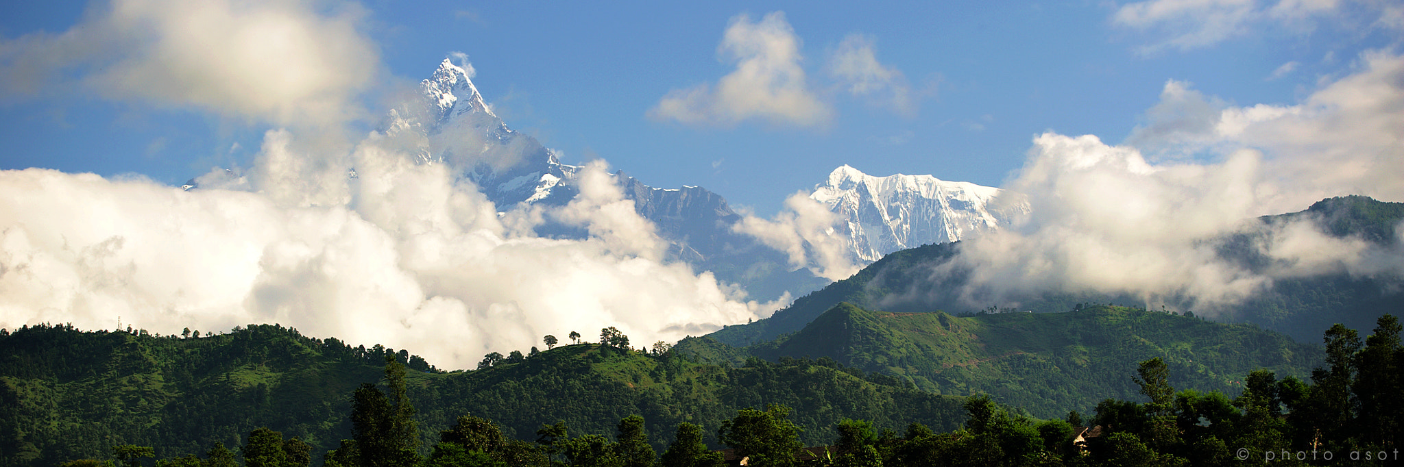 Photograph Machapuchare, Nepal by A Sot on 500px