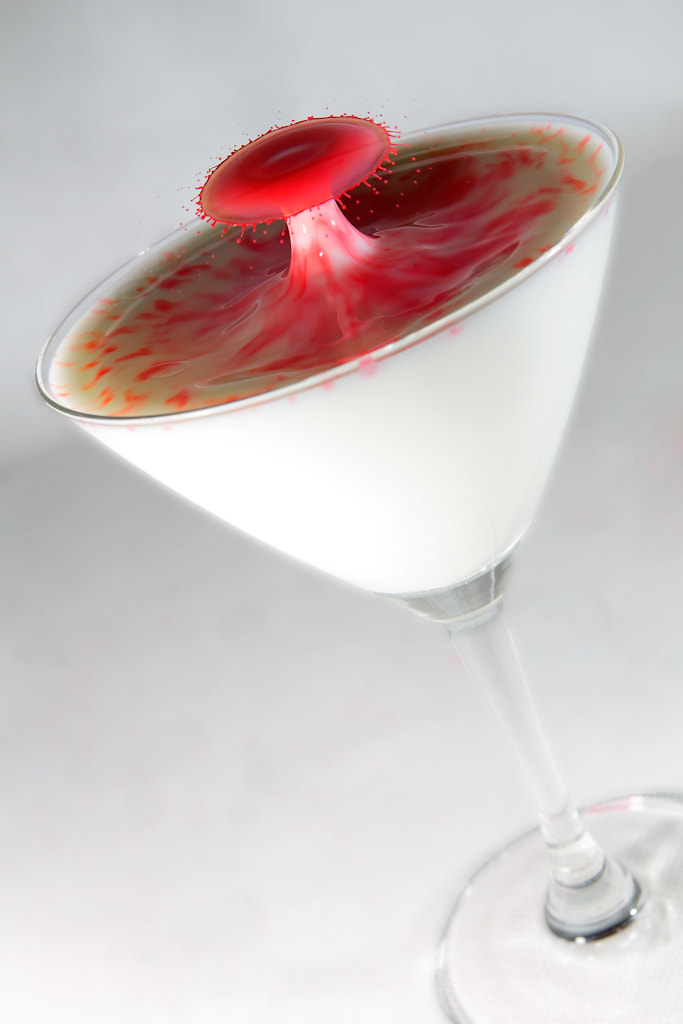 Photograph Milk Drop Martini by Yu Haining on 500px