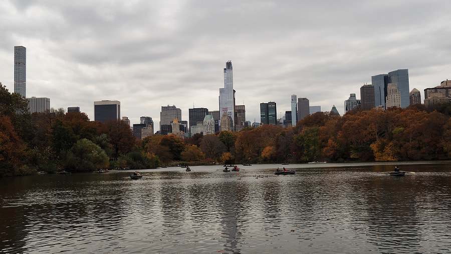 Lake (and a NYC Skyline) by Nancy Lundebjerg on 500px.com