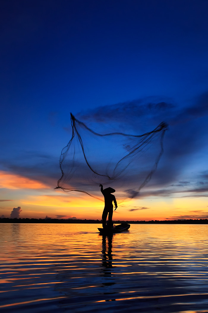 Photograph Fisherman by Saravut Whanset on 500px