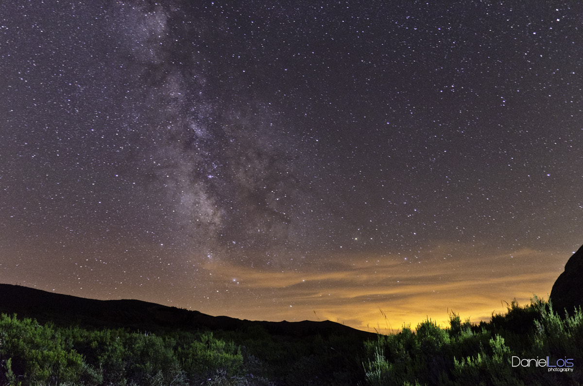 Photograph Milky way over Manzaneda by Daniel Lois on 500px