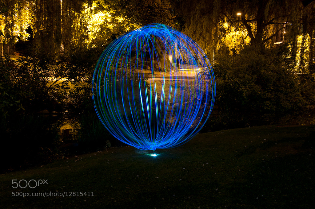 Photograph blue orb by Sharon  Wish on 500px