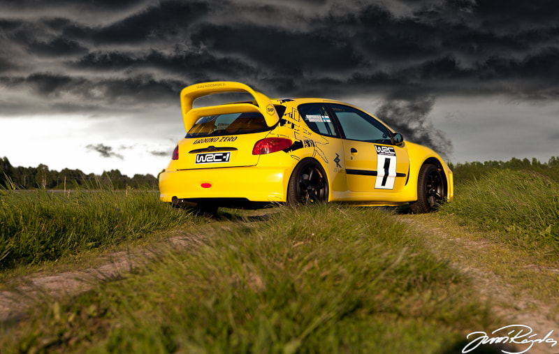 Photograph Peugeot 206 W2C  by Jussi Rajala on 500px