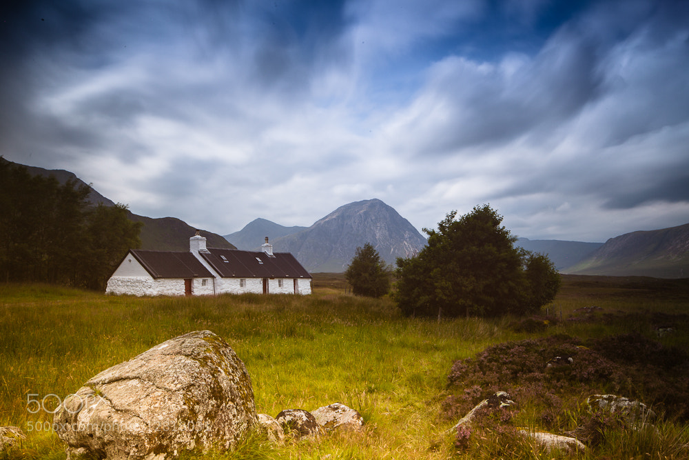 Photograph Black Rock Cottage @Glencoe by Thomas Mader on 500px