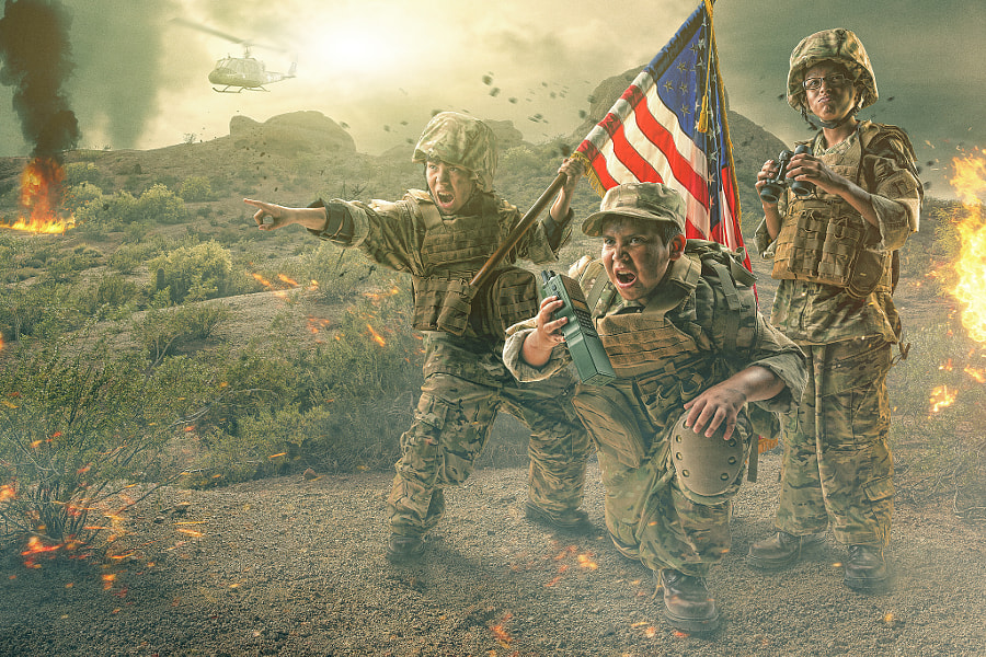 when i grow up Military by Brandon Cawood on 500px.com