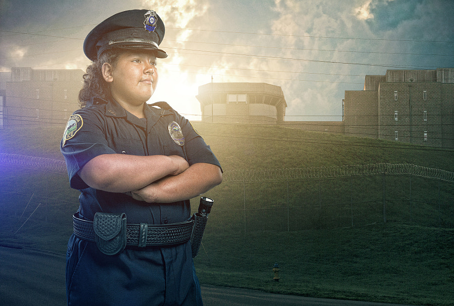 when i grow up police officer by Brandon Cawood on 500px.com