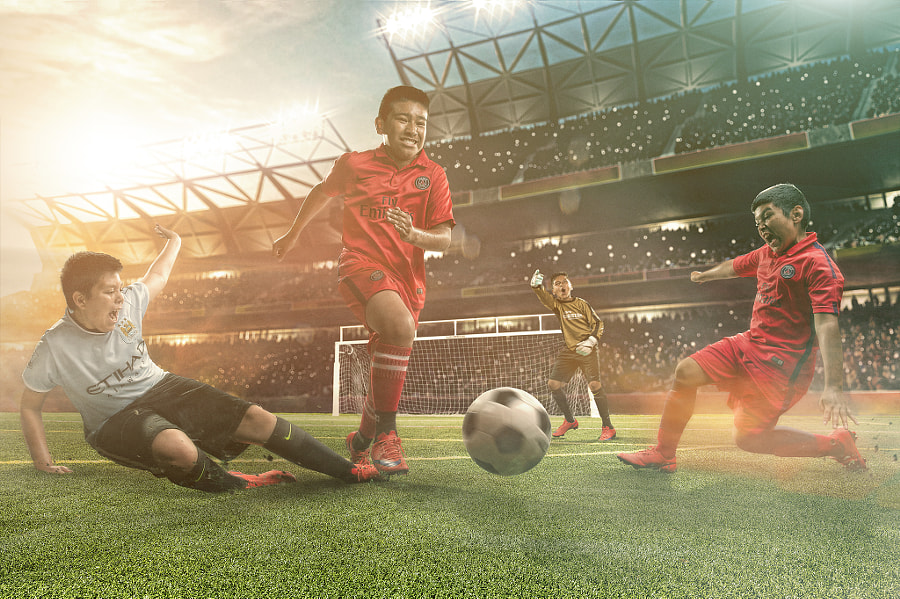 when i grow up soccer players by Brandon Cawood on 500px.com