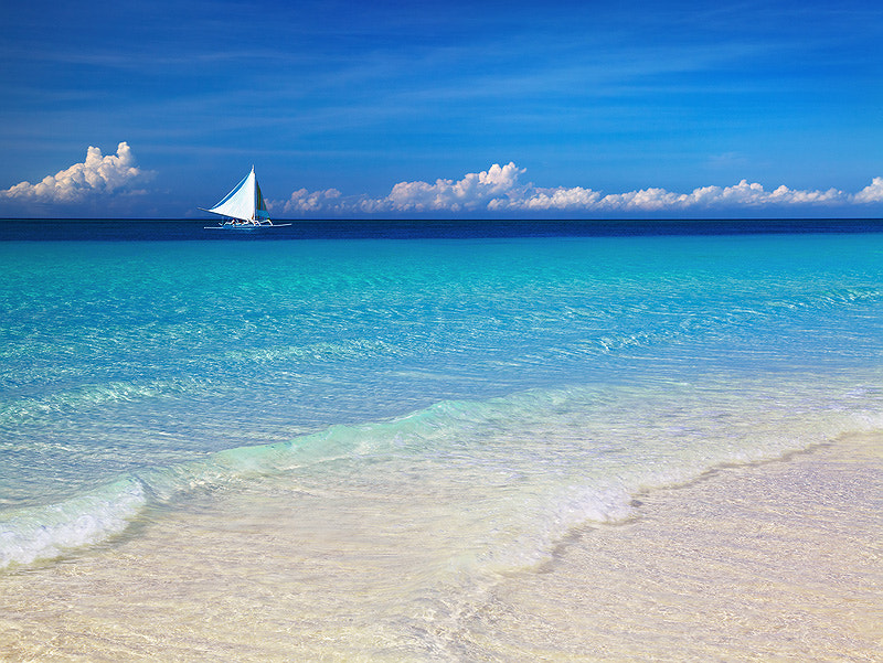Tropical beach, Philippines de Dmitry Pichugin en 500px.com