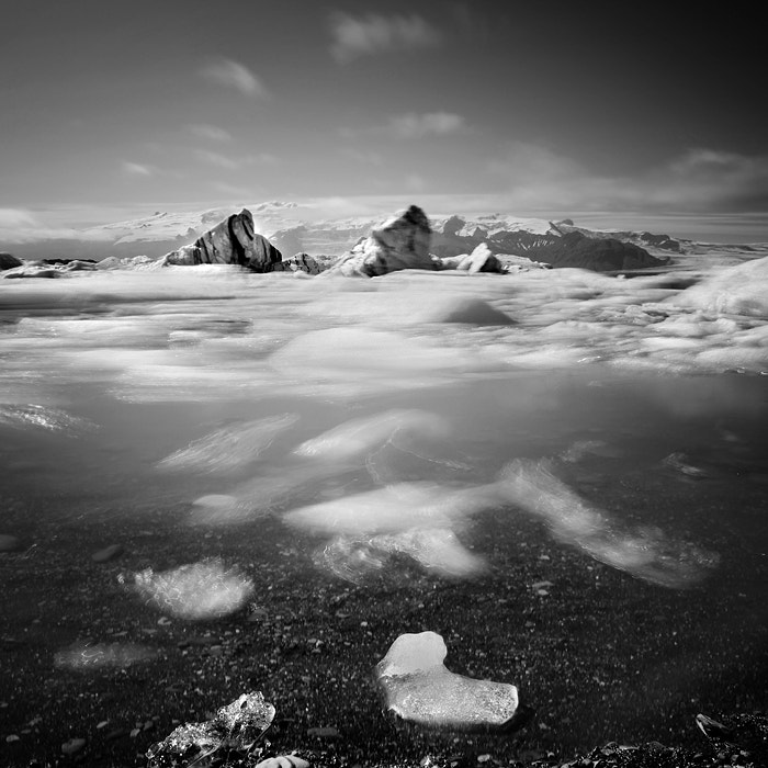 Photograph Floating Ice by Nina Papiorek on 500px