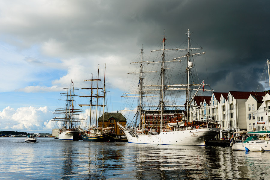 Photograph Sail ships in Stavanger by Hans Lie on 500px