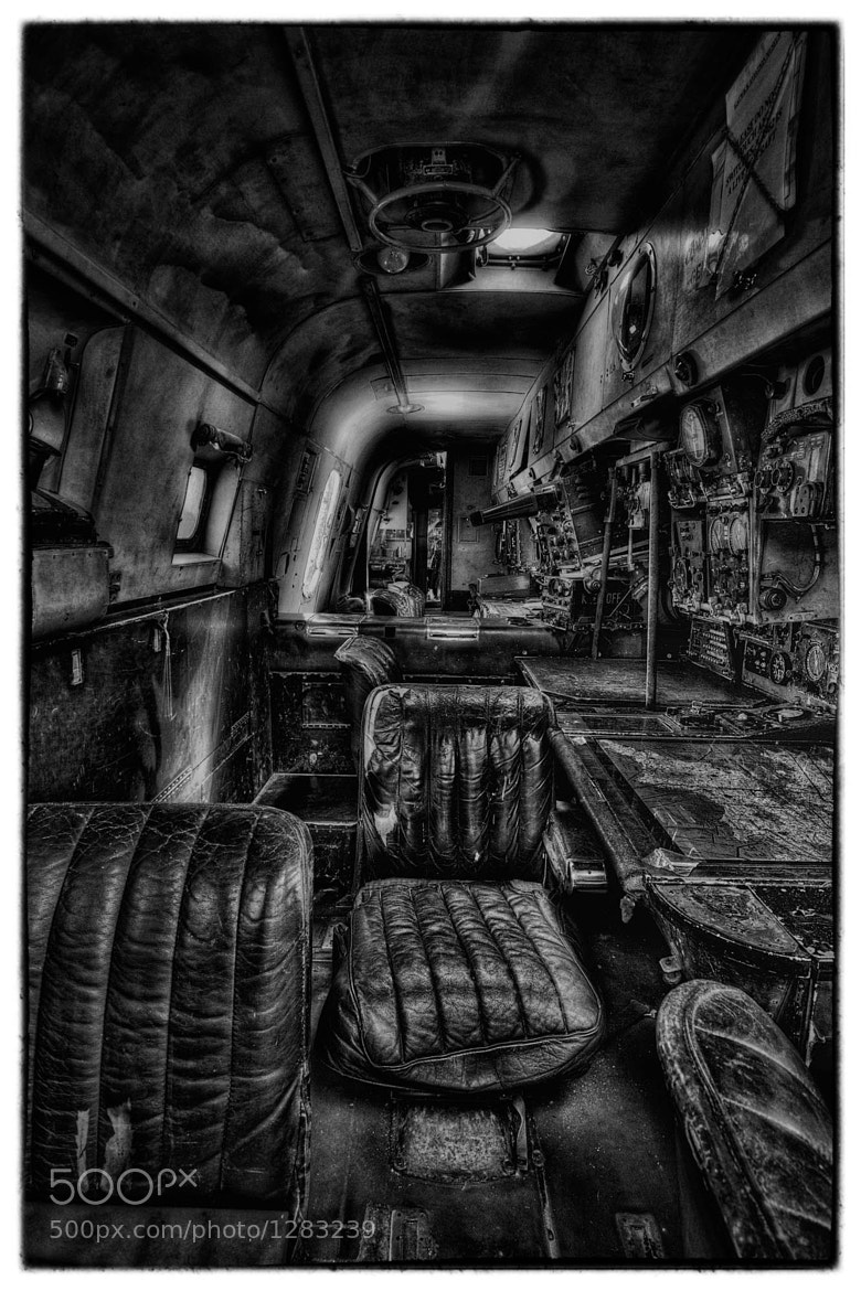 Photograph Inside the Shackleton by Steve Bryson on 500px