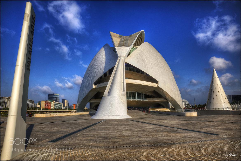 Photograph Palau de les Arts by AJ  Cerdá on 500px