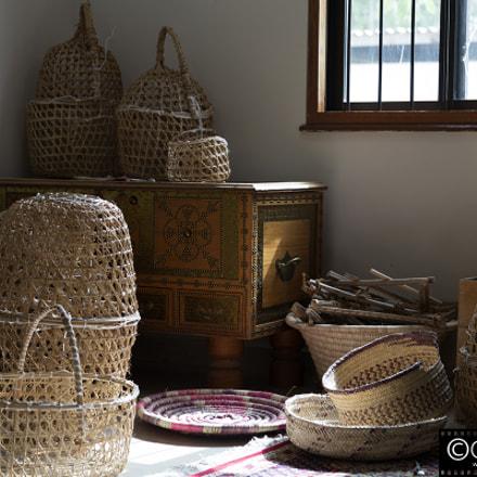 Baskets in the Sun