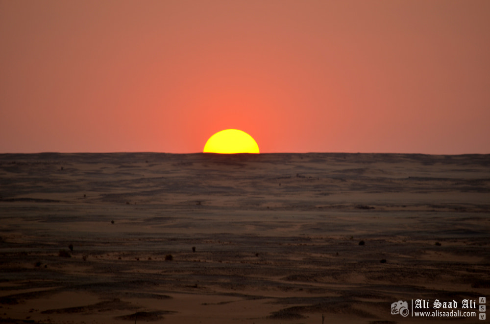 Photograph Smooth Sunset by Ali Saad Ali on 500px