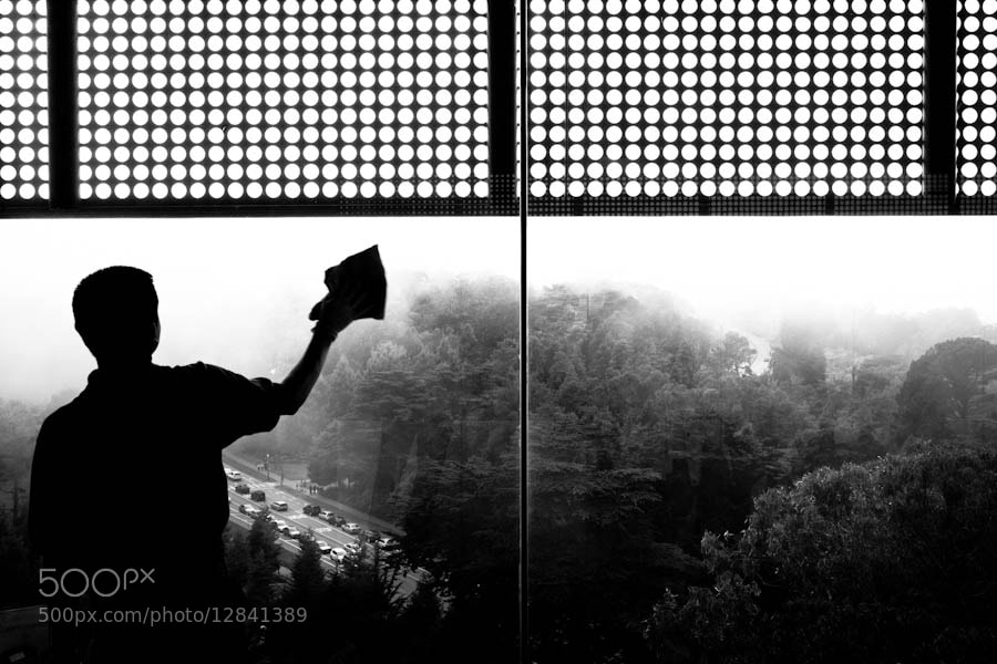 Photograph Cleaning the Sky I by Fabian Roth on 500px