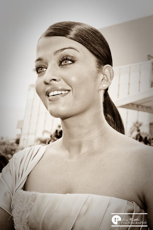 Photograph Aishwarya Rai at Cannes film festival 2009 by Eric Prudhon on 500px