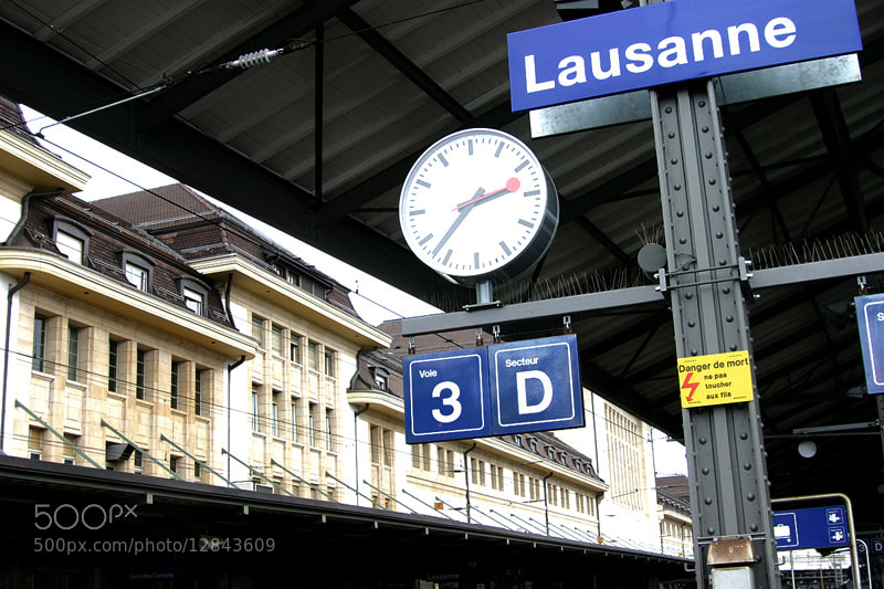 Photograph Lausanne, by zk yim on 500px