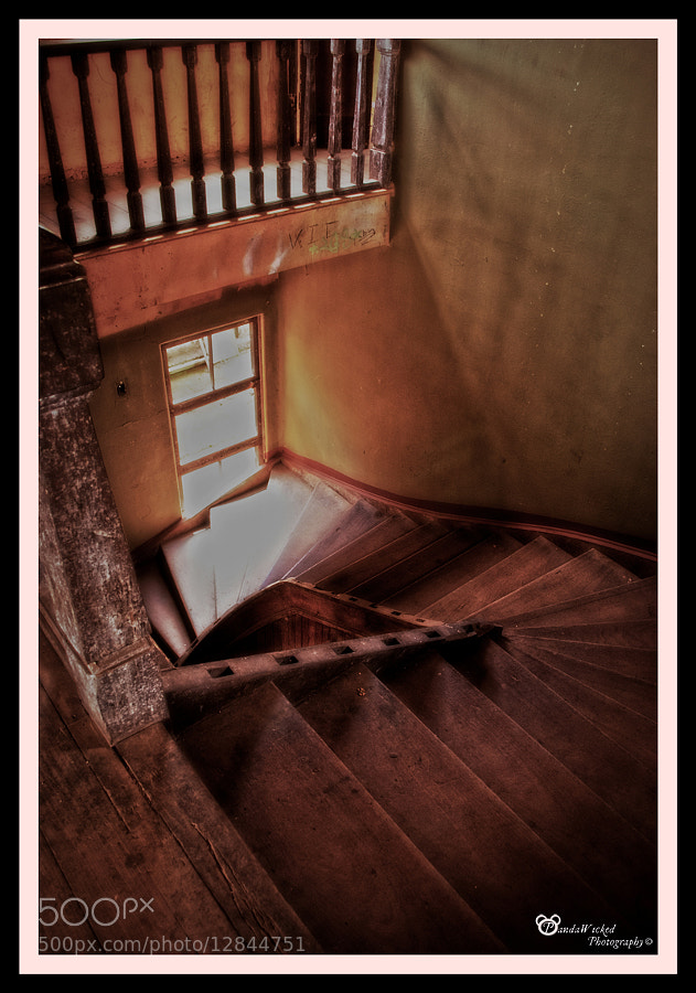 Photograph Sanatorio Duran : Enigmatic Stairs by Miel  Mora on 500px
