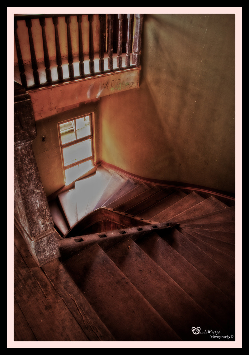 Photograph Sanatorio Duran : Enigmatic Stairs by PandaWicked  on 500px