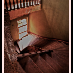 Sanatorio Duran : Enigmatic Stairs by Miel  Mora (Pandawicked)) on 500px.com