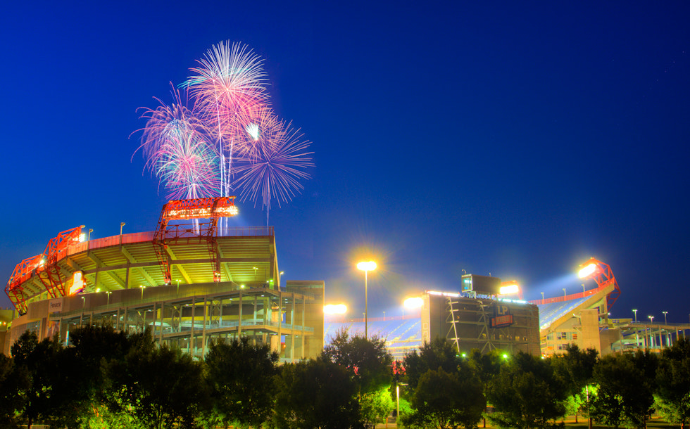 Photograph Home of The Tennessee Titans by Chriss Goyenechea on 500px