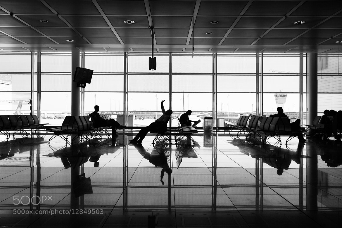 Photograph At airport by Yves Vernin on 500px