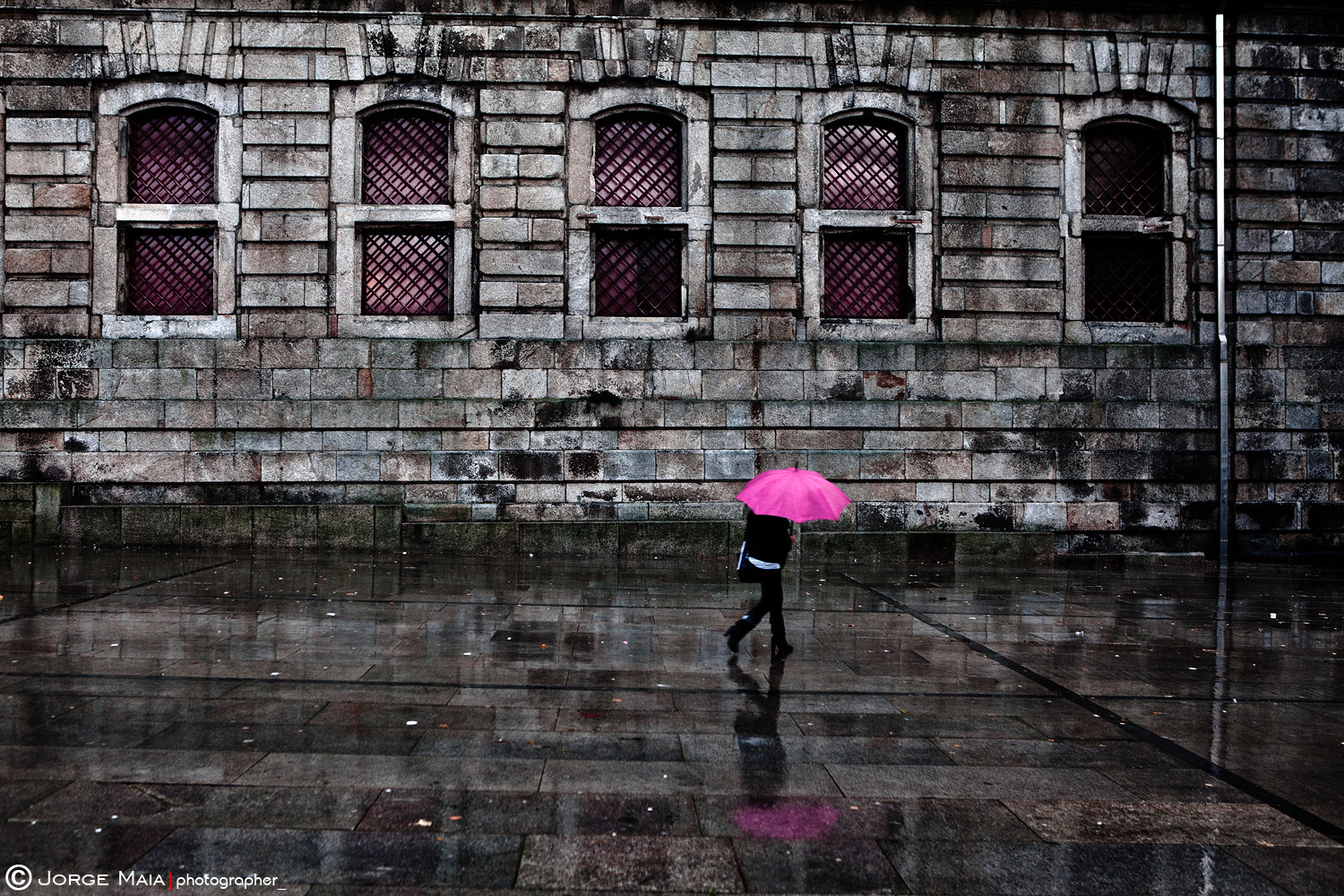 Photograph The pink umbrella by Jorge Maia on 500px