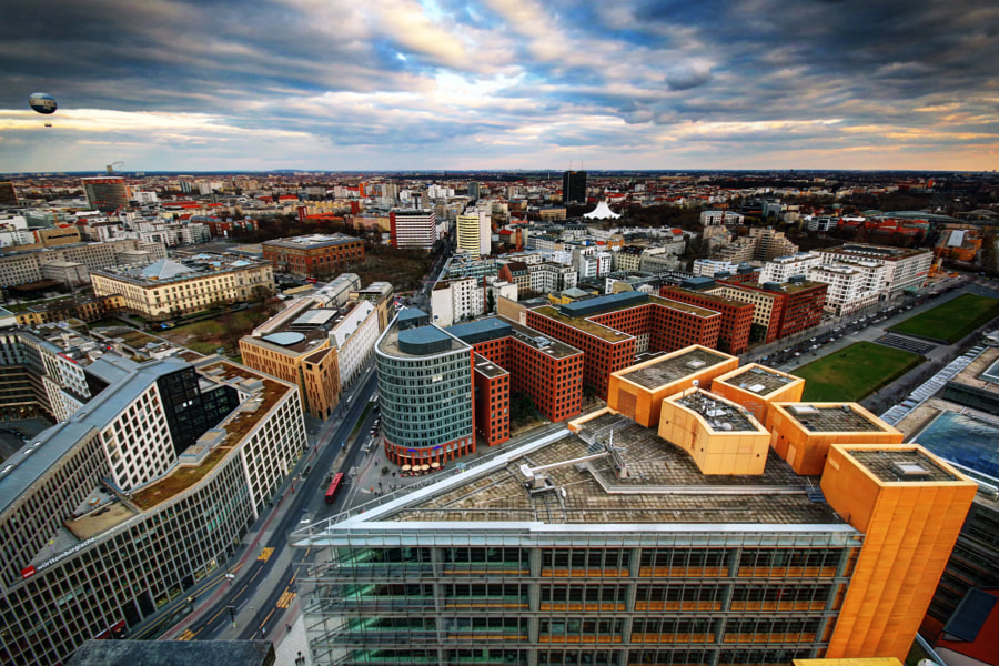Berlin from the top