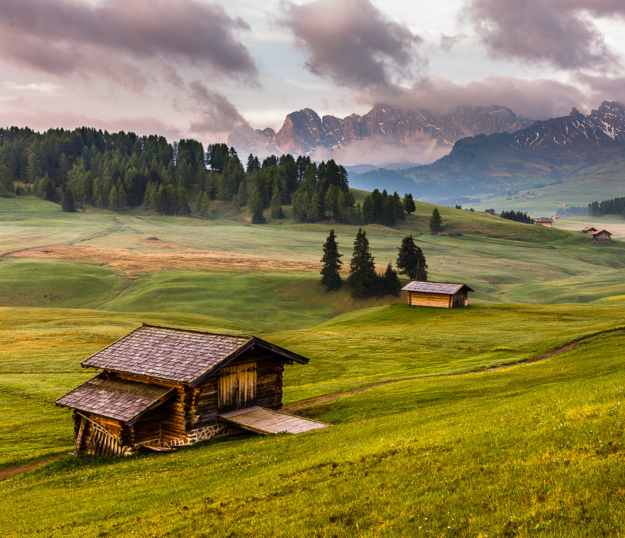 Photograph Morning in the Mountains by Hans Kruse on 500px