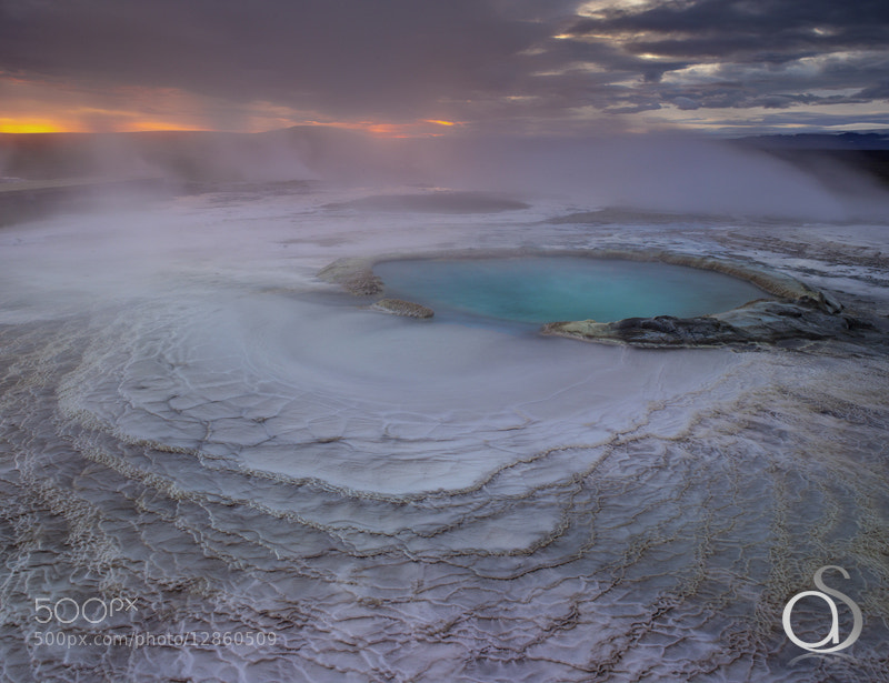 Photograph Geothermal Oasis by Antony Spencer on 500px