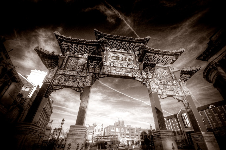 Photograph Chinese Arch by Mark McGowan on 500px