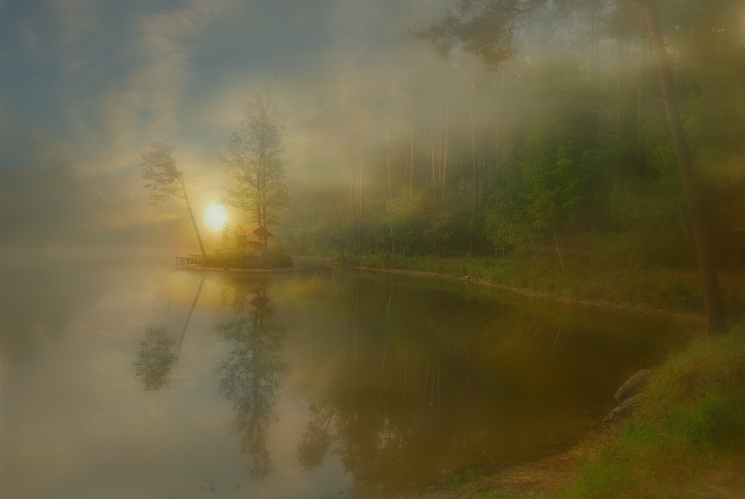 Photograph It was the morning by Anna  Ivinska-Bové on 500px