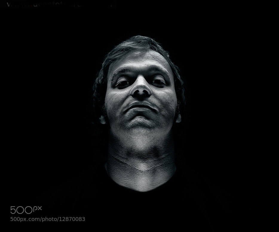 "Photograph Dark Portrait by César J. ""Mavic"" on 500px"
