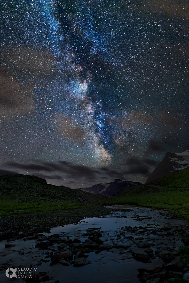Photograph Along the river of stars by Claudio Dalla Costa on 500px