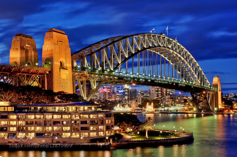 Photograph Sydney Harbour Bridge (HDR) by Tim Teo on 500px