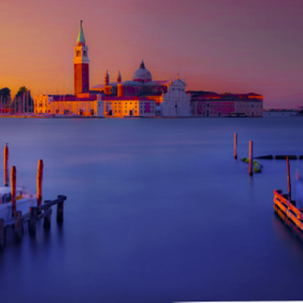 venice sunrise long exposure (of )