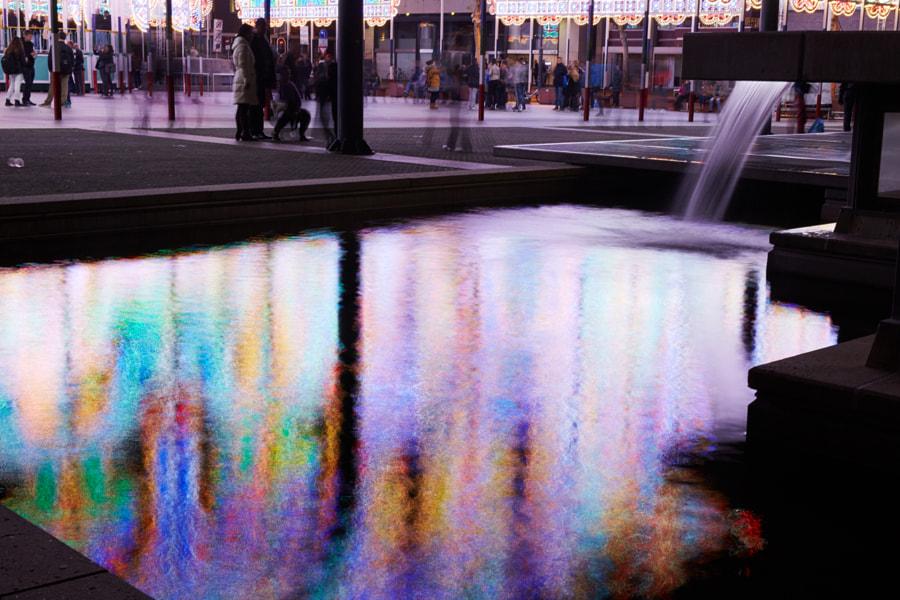 Reflection of Luminaire de Cagna