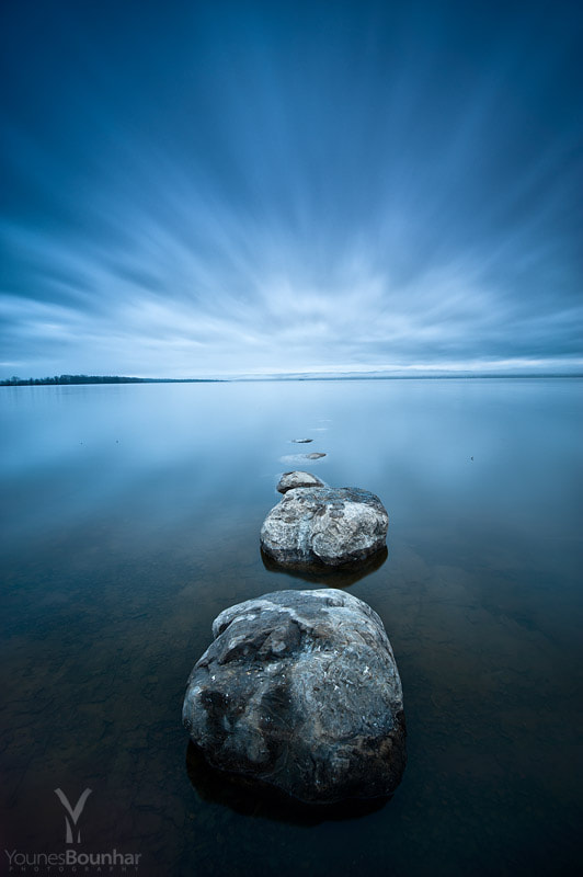 Photograph Stepping stones by Younes Bounhar on 500px