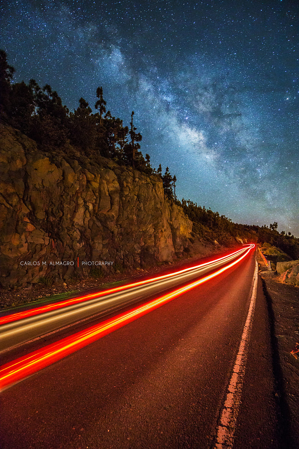 Road to the stars by Carlos M. Almagro on 500px.com