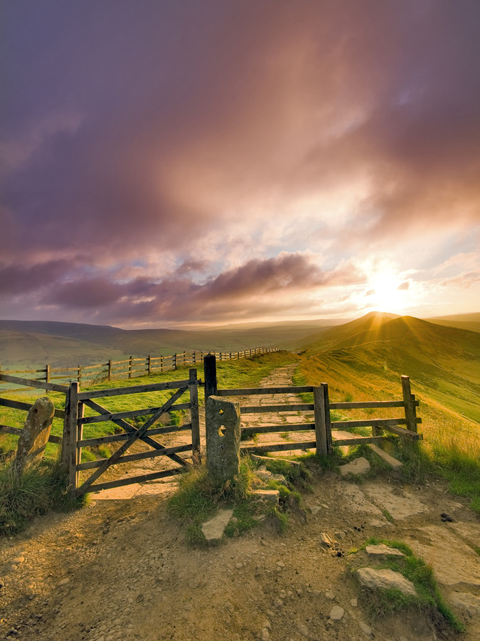 Photograph Gate to Mother Hill by Mark Woolhouse on 500px