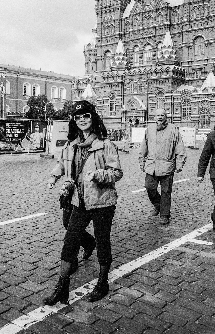 Photograph Red Square Fashion by Miklos Szorenyi on 500px