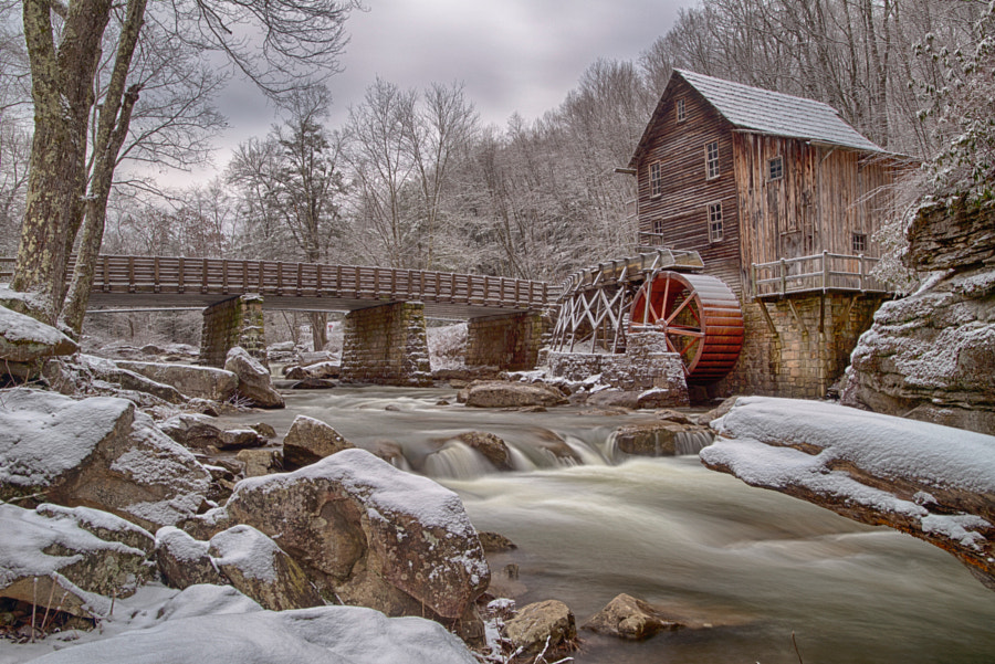 Glade Creek Grist Mill by Mike Yeatts on 500px.com